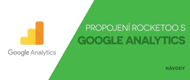 Propojení Rocketoo s Google Analytics