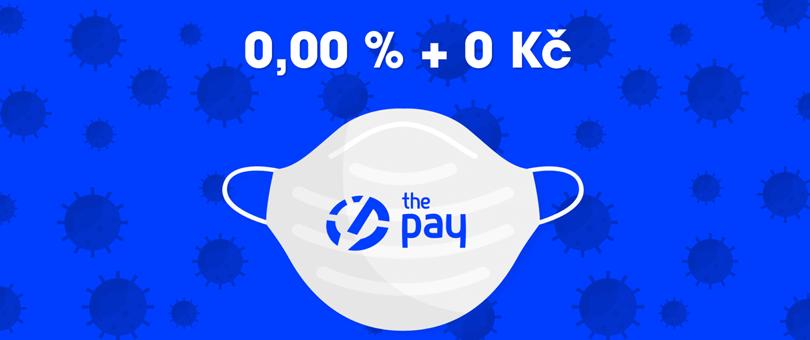 ThePay nabízí platební bránu zdarma